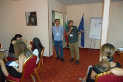 AFTER WORKSHOP ON EU COHESION WE REPORTED IN COUPLES